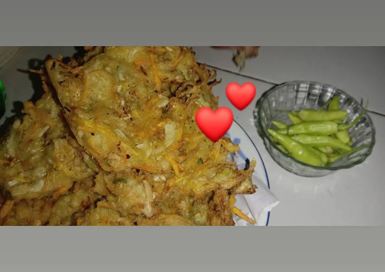 Resep: Bala-bala sayur renyah enak