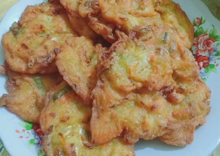 Resep mengolah Bala-bala (bakwan sayur) enak