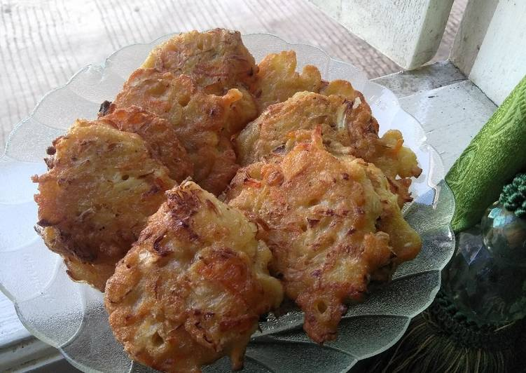 Resep: Bakwan sayur/ bala-bala sedap