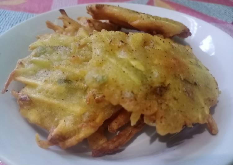 Resep: Bakwan Mantang / Bala-bala ubi yang menggugah selera