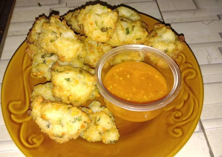 Resep memasak Bala-bala nasi sisa (04) lezat