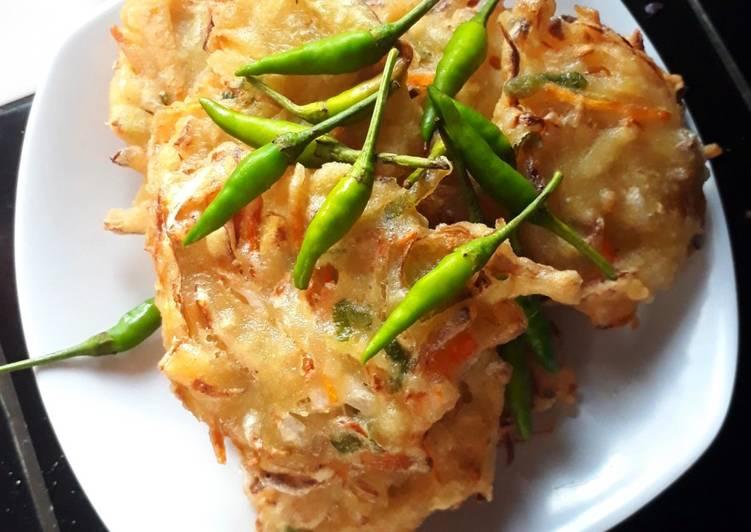 Cara memasak Bakwan sayur / bala bala sedap