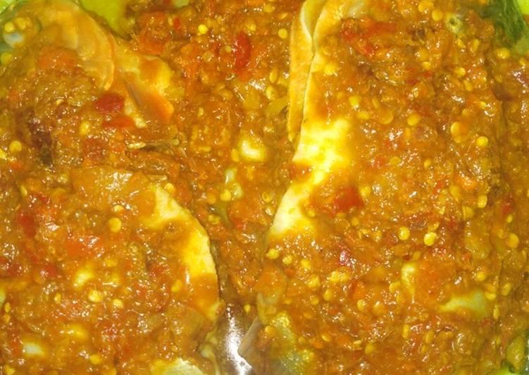 Resep membuat Ikan bakar Bala Bala pedas manis sedap