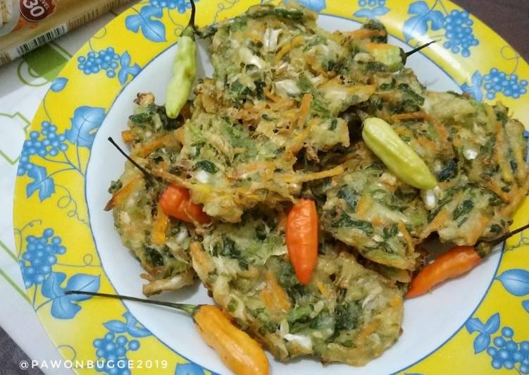 Resep: Bala-Bala aka Bakwan Sayur