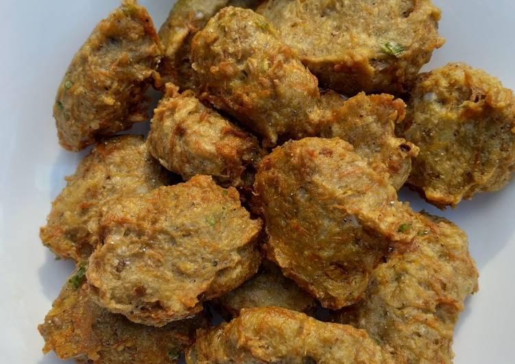 Resep memasak Bala-bala Teri Nasi istimewa