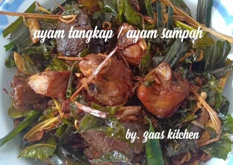 Resep mengolah Ayam tangkap/ayam sampah istimewa