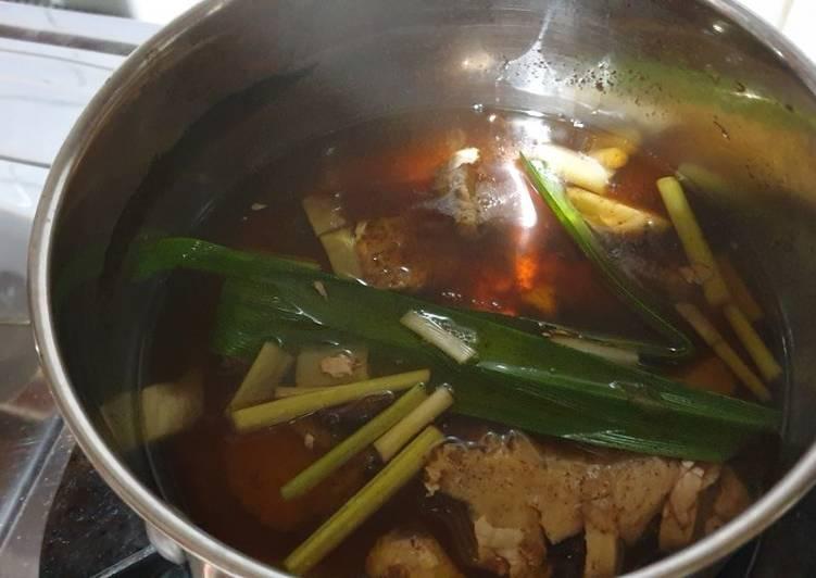 Resep: Wedang jahe susu/Bandrek susu ala resto