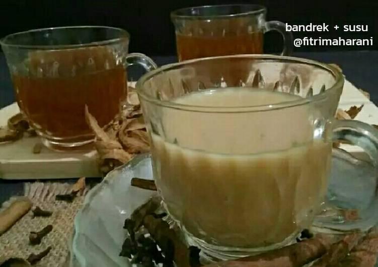 Bandrek Jahe (+susu)#simanisyangbukansusu