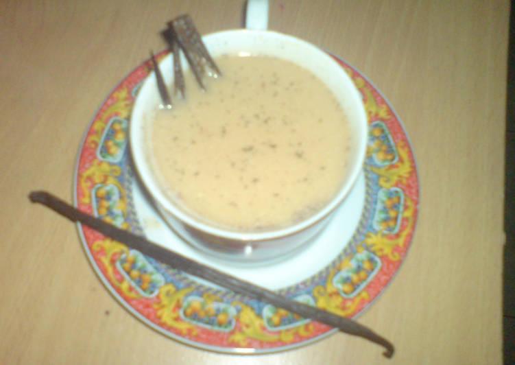 Cara membuat Bandrek Susu Vanilla Bandung yang bikin ketagihan