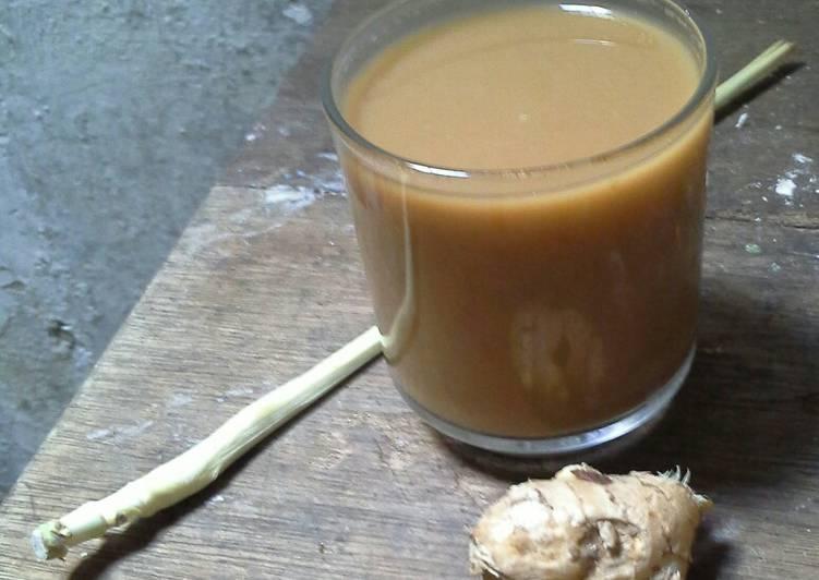 Resep: Wedang Jahe Susu/Bandrek susu🍵🍵 enak
