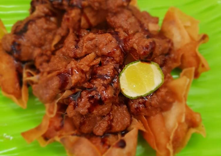 Resep membuat Batagor mini enak