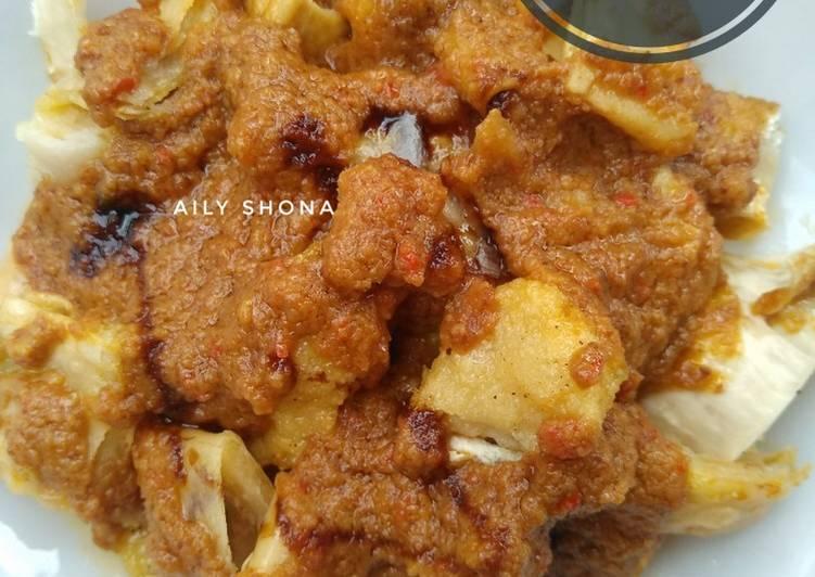 Resep: Batagor Ayam Bumbu kacang ala resto