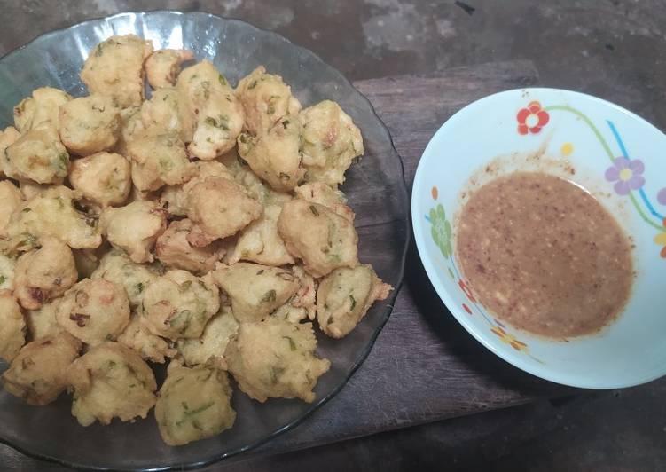 Cara membuat Batagor Tahu Sambal kacang lezat