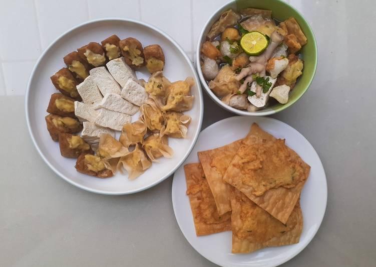 Cara membuat Batagor kuah yang bikin ketagihan
