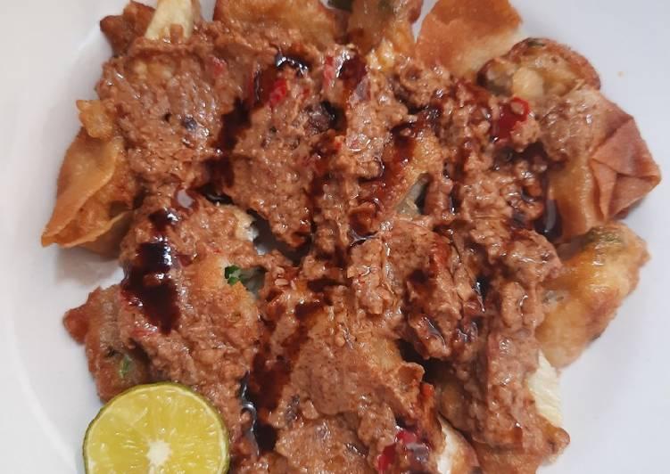 Cara Mudah memasak Batagor tanpa ikan istimewa