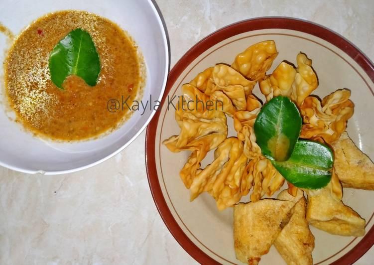 Cara Mudah memasak Batagor tanpa ikan ala resto