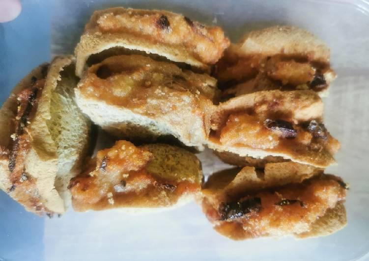 Cara Mudah membuat Tahu walik plus batagor krispi isi ayam dan wortel lezat