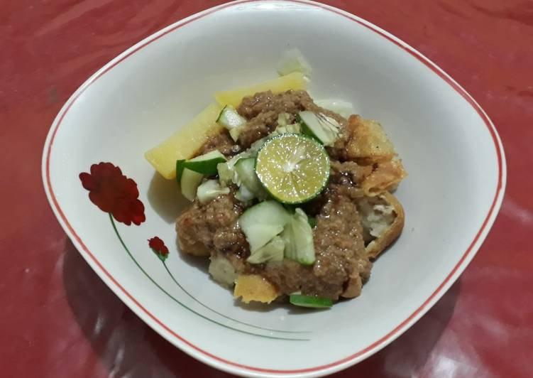 Resep membuat Somay Batagor Ikan ala resto