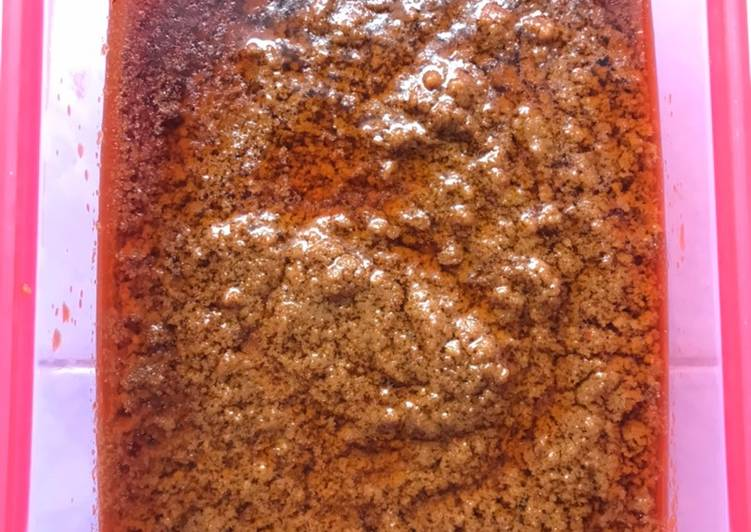 Cara Mudah memasak Saos kacang siomay / batagor enak