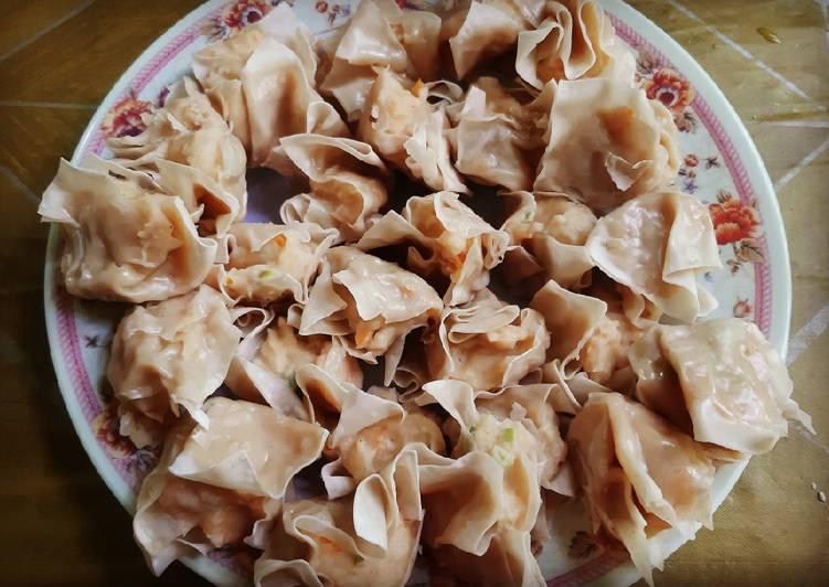 Resep: Batagor ayam udang istimewa