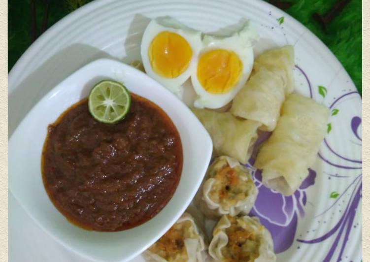 Sambel Kacang Siomay/ Batagor recook mba @Azizah