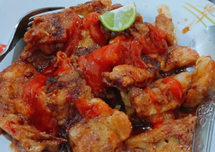 Cara Mudah memasak Batagor ikan tenggiri