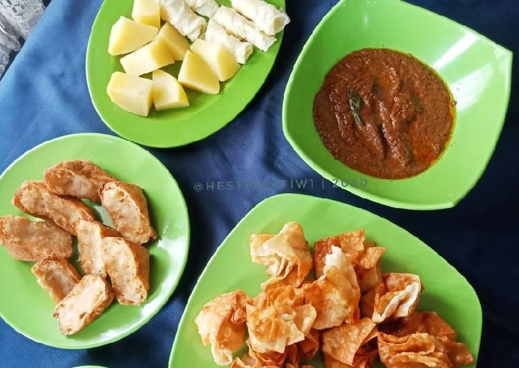 Resep: Batagor Kuah Kacang yang menggugah selera