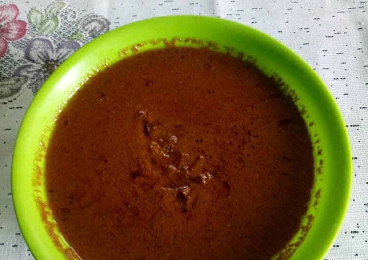Resep memasak Bumbu kuah kacang (siomay / batagor)