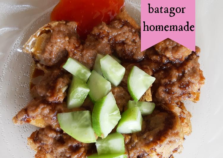 Cara memasak Batagor Homemade yang menggugah selera