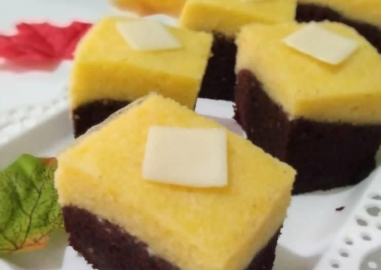 Brownies Coklat Keju Kukus