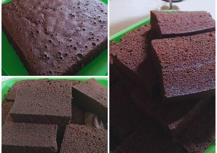 Cara mengolah Brownies kukus ny.Liem lezat