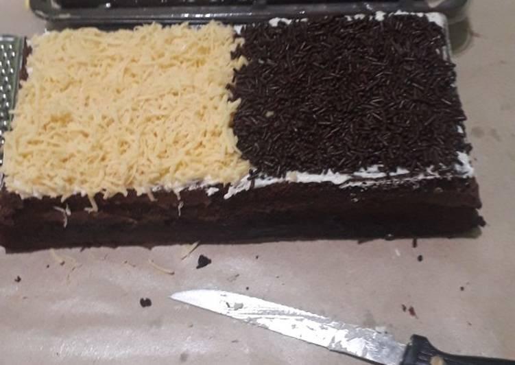 Resep memasak Brownis kukus