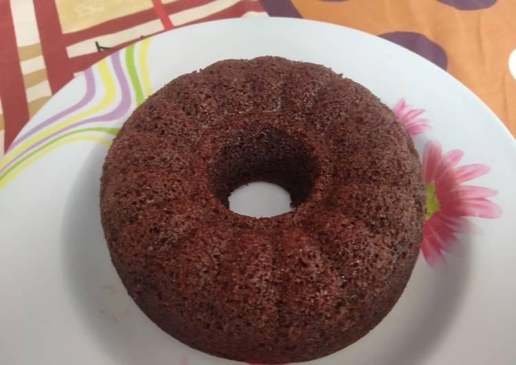Cara memasak Brownies kukus YR istimewa