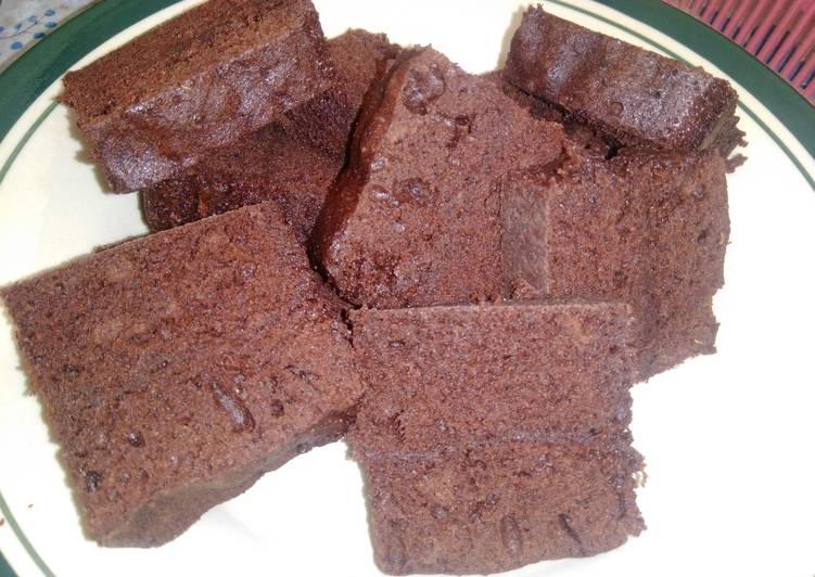 Brownies kukus super legit