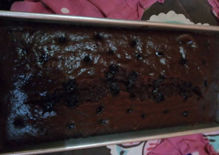 Brownies mocaf kukus no telur