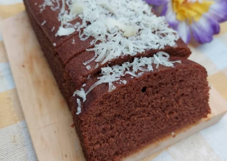Resep mengolah Brownies kukus lembut takaran sendok sedap