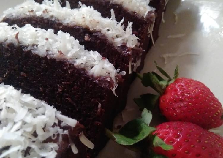 Cara memasak Brownies Kukus Chocolatos Gampil yang menggugah selera