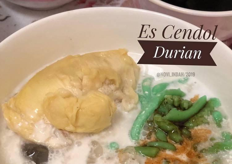 Es Cendol Durian