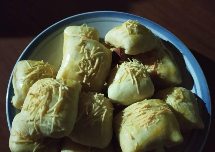 Resep: Bolen pisang Ambon hijau ala resto