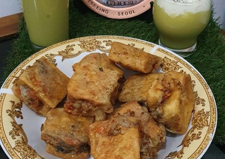 Resep memasak Tahu isi Sayuran Pedas (Gehu Pedas) yang menggugah selera