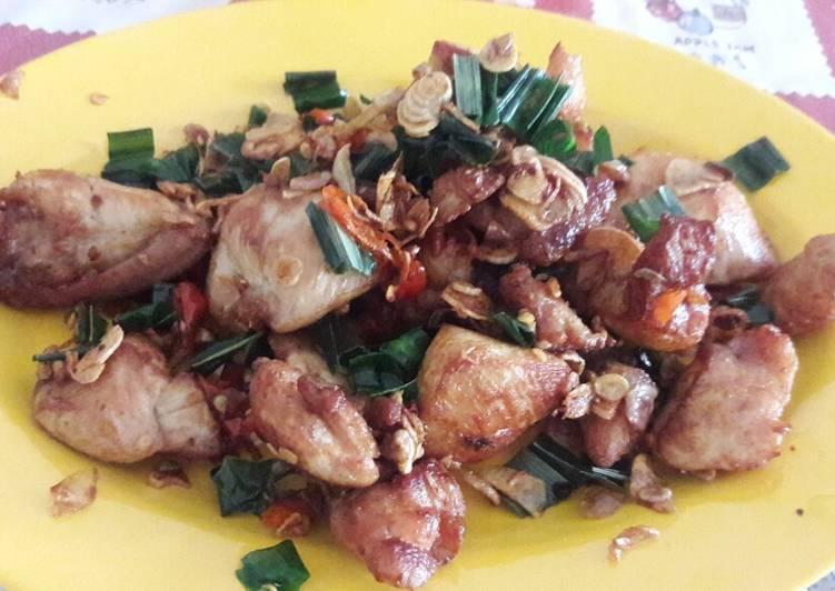 Cara Mudah memasak Ayam tangkap ala reina enak