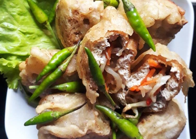 Cara memasak Gehu pedas - tahu isi pedas jeletot enak