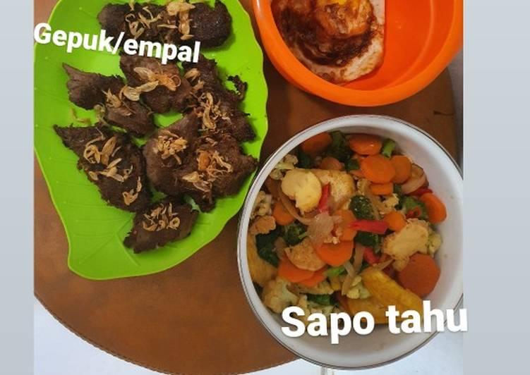 Resep: Gepuk/empal ala resto