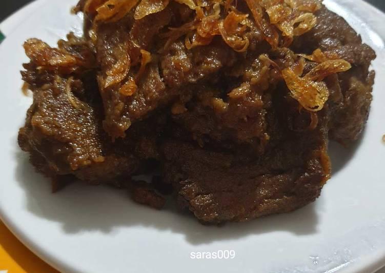 Resep: Gepuk daging ala resto