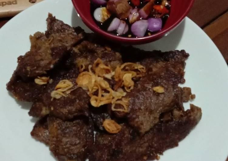 Resep memasak Empal gepuk sapi yang bikin ketagihan