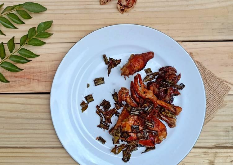 Resep memasak Ayam tangkap #bandung_recookadam'smommy enak