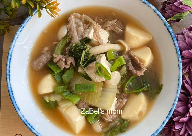 Resep membuat Doenjang Jigae (Korean Soybean Paste Soup) yang menggugah selera