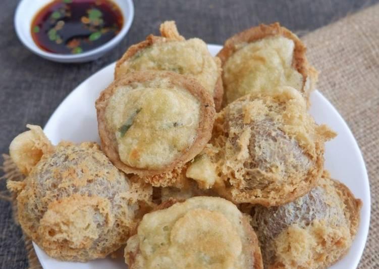 Cara Mudah memasak Tahu walik crispy simple yang bikin ketagihan