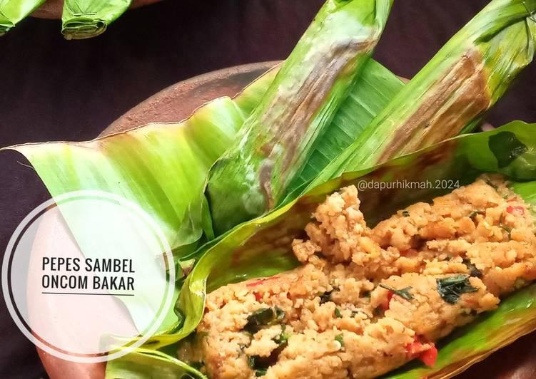 Pepes Sambal Oncom Bakar (PEDAS)