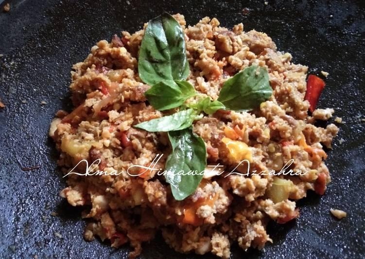 Cara Mudah memasak Sambel oncom